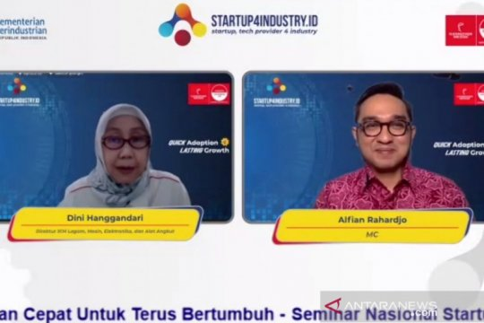 Startup4industry 2021 fokus pada implementasi teknologi industri 4.0