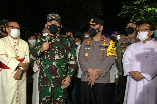 Pangdam Jaya-Kapolda pastikan ibadah Paskah di Jakarta kondusif