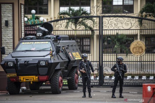 Polri audit pengamanan di markas kepolisian pascapenembakan