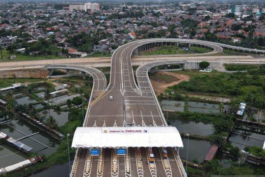 Pengoperasian jalan tol Serpong-Pamulang dan Cengkareng-Batuceper-Kunciran