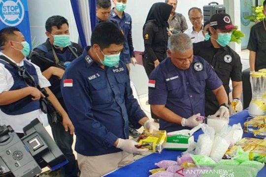 BNNP Sumsel terus kembangkan penangkapan kurir narkoba jaringan Riau