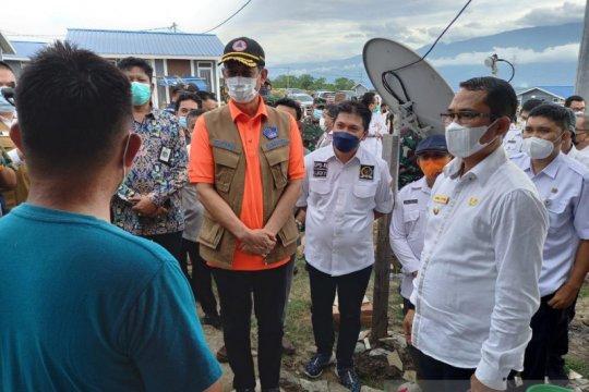 BNPB minta rehab-rekon pascagempa Pasigala harus selesai tahun ini