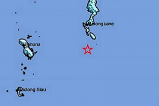 BMKG: Gempa Melonguane dangkal dan akibat subduksi Sangihe-Talaud