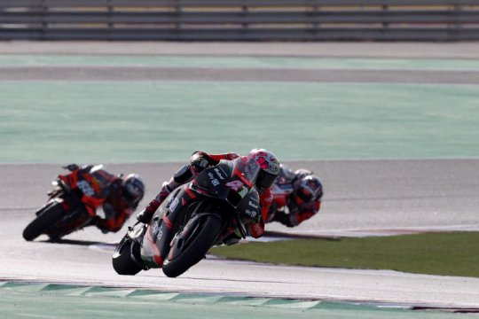 Espargaro puncaki FP1 GP Doha, empat pabrikan bersaing ketat