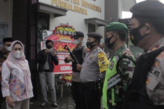 250 personel gabungan jaga gereja di Purbalingga