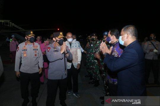 Kapolri tiba di Bandara El Tari Kupang