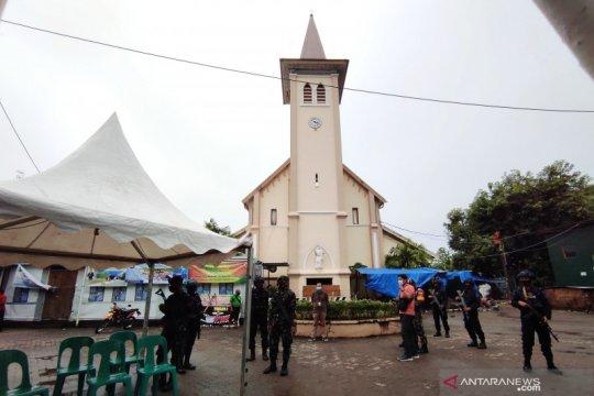 Ibadah Jumat Agung Paskah di Makassar berlangsung kondusif