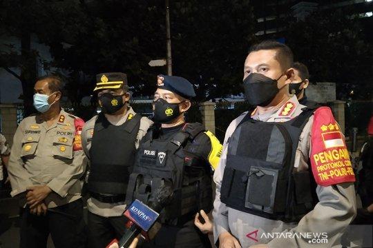 Brimob: Tidak ditemukan rangkaian bom di buku di Halte Melawai
