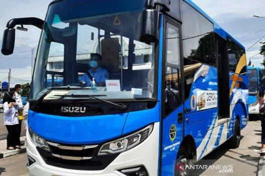 Depok ajak masyarakat gunakan bus sebagai alat transportasi