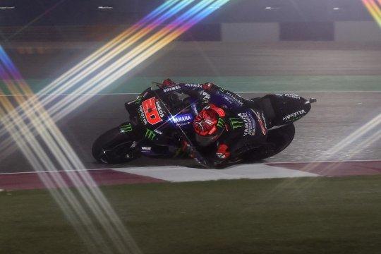 GP Doha: Quartararo puncaki FP3 yang berangin dan berdebu