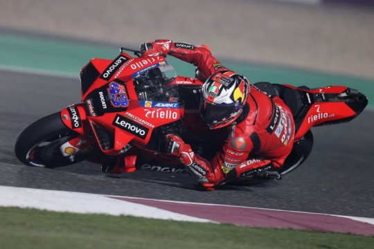 Trio Ducati berjaya dalam FP2 Grand Prix Doha