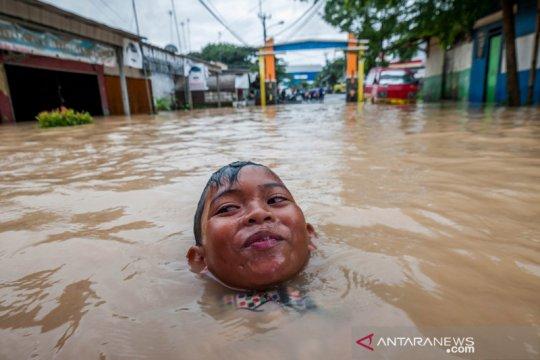 Lebak terendam banjir