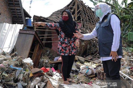 Banjir di Pasuruan surut, namun ribuan rumah masih terendam banjir
