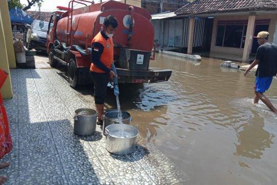 Banjir di Pasuruan mulai surut