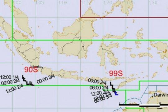 BMKG pantau bibit siklon tropis di Samudra Hindia selatan Jawa
