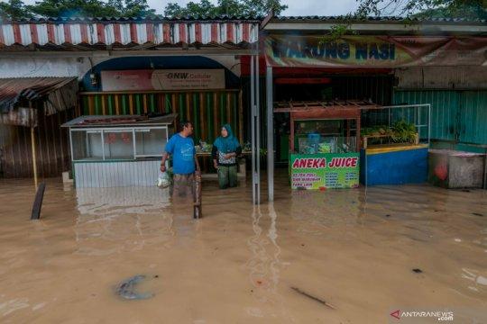 Puluhan rumah warga kebanjiran di Lebak
