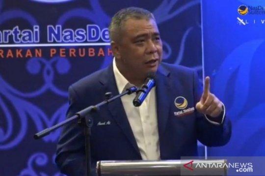 Ahmad Ali ingatkan NasDem Sulteng jangan jadikan figur basis kekuatan