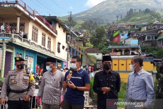 Menparekraf ingatkan tetap jaga protokol kesehatan di objek wisata