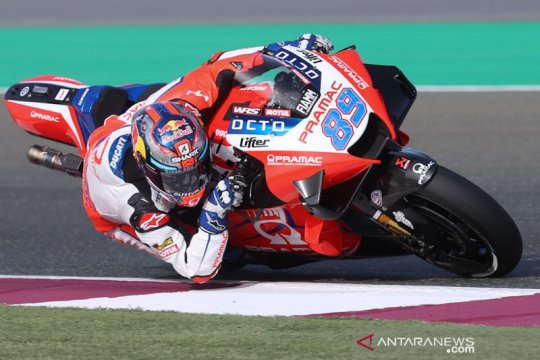 Rookie Jorge Martin buat kejutan dengan pole position GP Doha