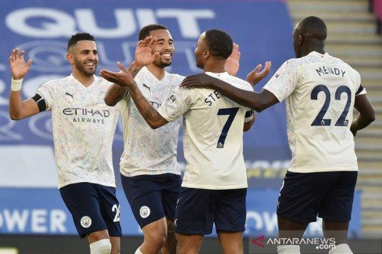 Klasemen Liga Inggris: Manchester City kini unggul 17 poin di puncak