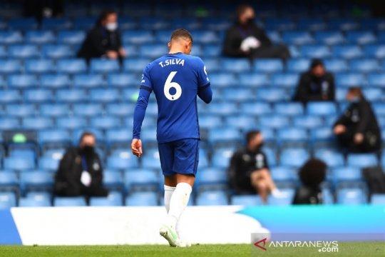 Tuchel akui Chelsea sudah main buruk sebelum kartu merah Thiago Silva