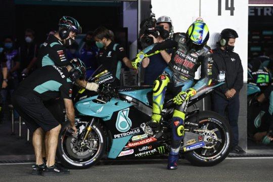 Daya cengkeram ban belakang masih jadi masalah utama Rossi di Qatar