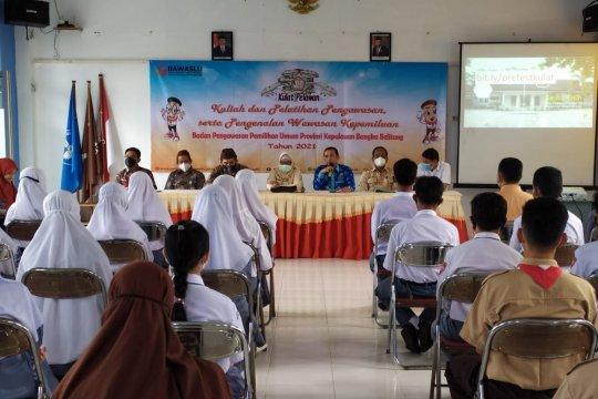 Bawaslu Kabupaten Bangka Tengah bentuk kader pengawasan partisipatif