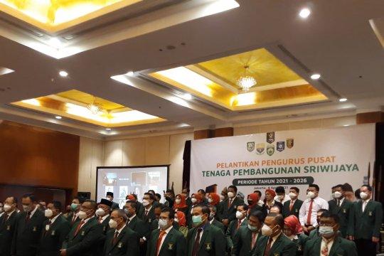 Pengurus Pusat Tenaga Pembangunan Sriwijaya dilantik