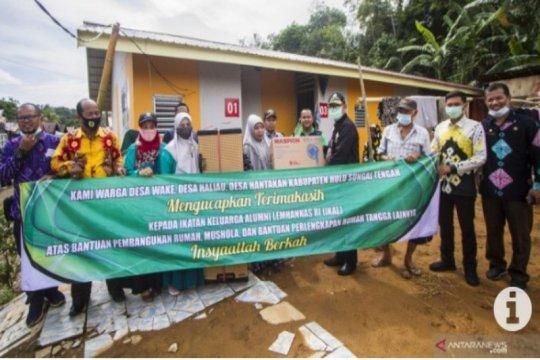 IKAL bantu huntara korban banjir bandang Hulu Sungai Tengah