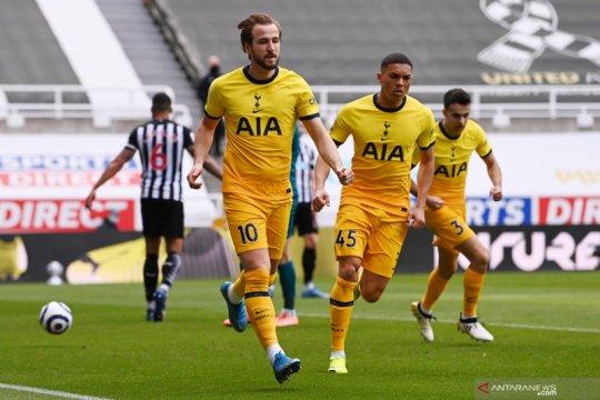 Liga Inggris:   Babak pertama Tottenham unggul 2-1 atas Newcastle United