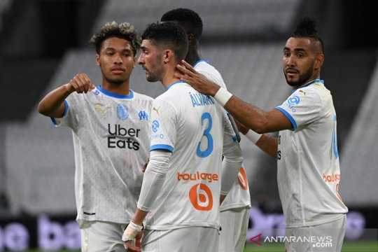Marseille kembali ke jalur kemenangan saat bekuk Dijon
