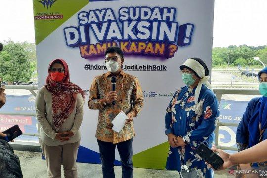 Menkominfo apresiasi pelaksanan Vaksin Indonesia Bangkit di RSUI
