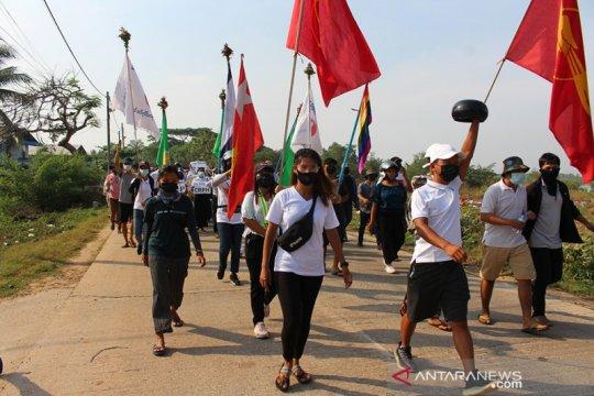 Pemerintah persatuan anti junta Myanmar bentuk kekuatan pertahanan