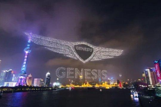 Genesis pecahkan rekor terbangkan 3.281 drone di langit China