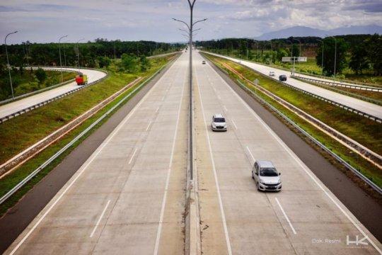 Volume lalin Tol Trans Sumatera meningkat selama libur Paskah