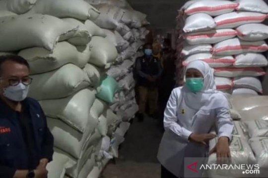 Gubernur Khofifah pastikan stok pangan Jatim aman hadapi Ramadhan 2021