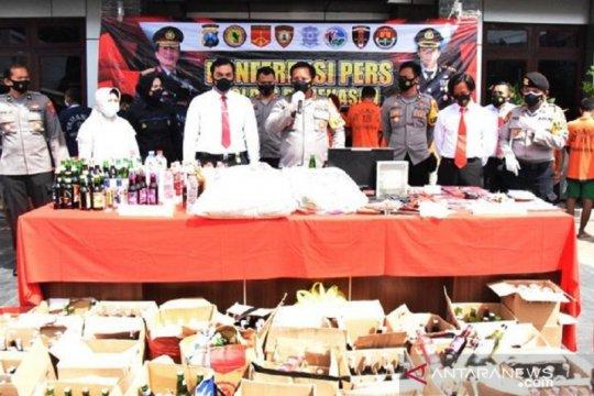 Polres Pamekasan tangkap ratusan pelaku kriminal