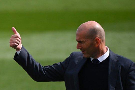Zidane: saya bukan pelatih yang buruk, tapi juga bukan yang terbaik