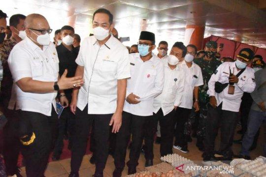 Menteri Perdagangan tinjau Pasar Raya Padang fase VII