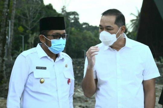 Mendag RI tinjau wahana wisata baru di Pantai Air Manis Padang