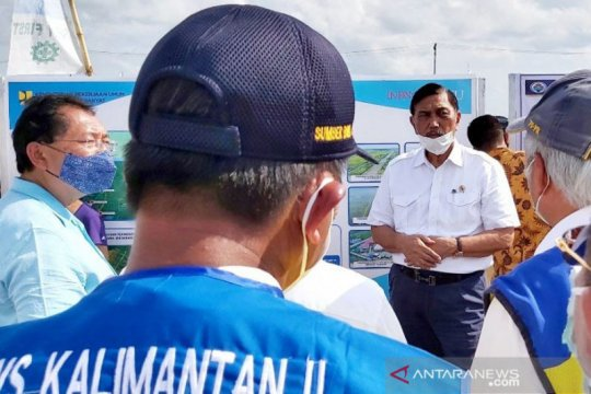 "Menko Luhut ajak universitas dalam pengembangan ""food estate"" Kalteng"