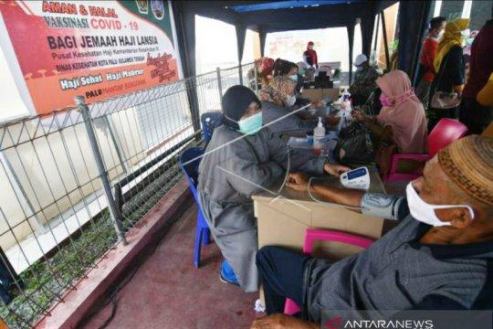Tingkat kesembuhan pasien COVID-19 di Sulawesi Tengah 90,76 persen