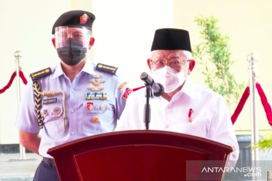 Wapres Ma'ruf Amin resmikan Pasar Rakyat Pariaman