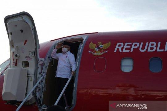 Wapres Ma'ruf Amin lakukan kunjungan kerja ke Sumatera Barat