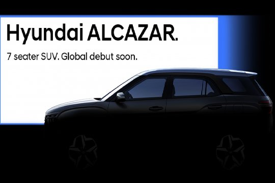 Hyundai Alcazar, calon pesaing Suzuki XL7 - Honda BR-V