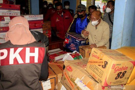 Menteri Sosial cek pemenuhan kebutuhan korban bencana di NTT