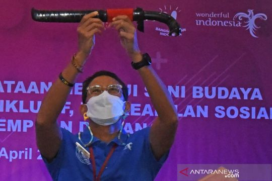 Sandiaga Uno bertemu pelaku pariwisata Banten
