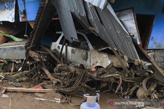 Kondisi pascabanjir bandang Adonara Timur