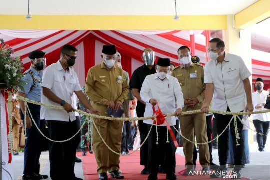 Wapres: Pasar Rakyat Pariaman bakal jadi wisata belanja kuliner