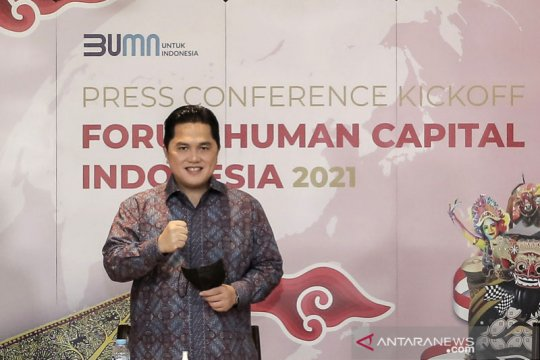 Erick Thohir ingin CEO BUMN harus bisa bersaing dengan CEO global
